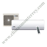 Minisplit High-Wall 1.5 Ton Heat Pump 220/1/60hz R-410A Estándar, YORK, YHGE18ZJMAXAORX