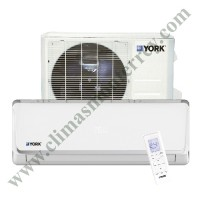 Minisplit Hi-Wall Dc Inverter, 1.5 Ton,  220/1/60, 17.7 SEER, Frío/Calor, YORK YHKE18ZJ6AXBORX