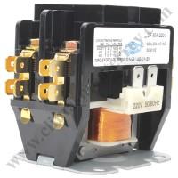 Contactor 2 Polos, 30 Amps, Bobina 208-204VAC, 50/60Hz