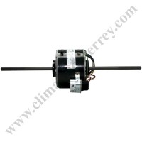 Motor Doble Flecha, Fan & Coil, 127V, HP 1/6, RPM 1500, 60Hz, 2.2A, Capacitor 5 MFD